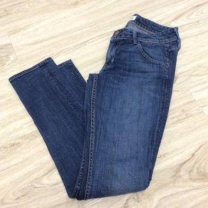 Hudson Colin Flap Skinny Jeans Size 28